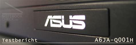Asus Laptop Touchscreen Einschalten test asus a6ja notebookcheck tests