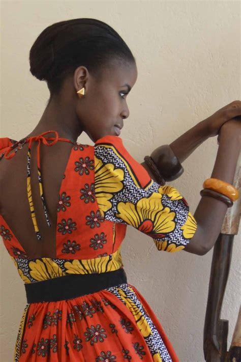 trending ladies wear kenya maria dress kitenge africa dress africanfashion
