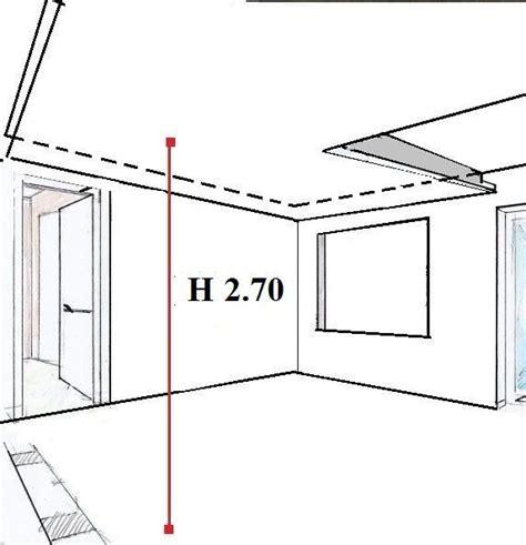 altezza minima soffitto controsoffitto sospeso in cartongesso