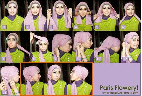 gambar tutorial hijab remaja segi empat tutorial hijab