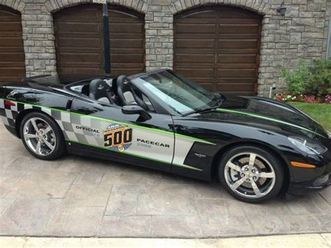 2008 Corvette Pace Car by Find Used 2008 Corvette Indy Pace Car Convertible Chevy 5