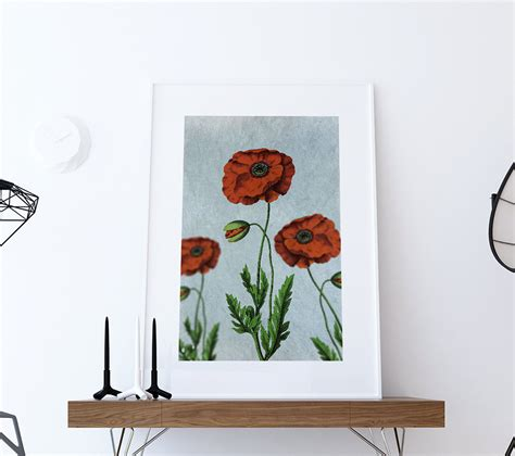 poppy home decor 28 images abstract poppy flower