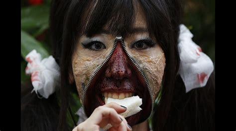 imagenes reales que parecen irreales halloween en jap 243 n disfraces que parecen reales