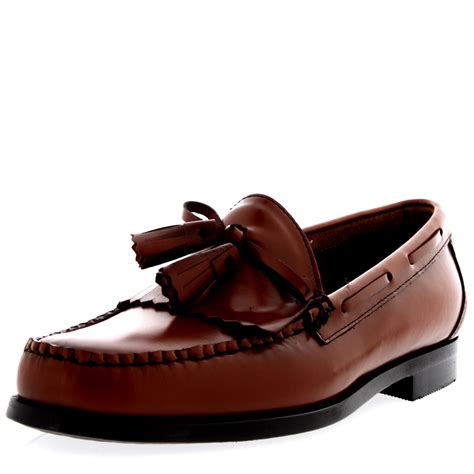 work loafers mens g h bass weejuns layton moc kiltie leather office