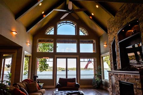 house plans with vaulted great room 3 story open mountain house floor plan asheville