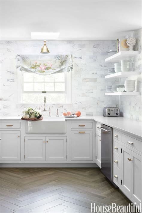 backsplashes for white kitchens 53 best kitchen backsplash ideas tile designs for