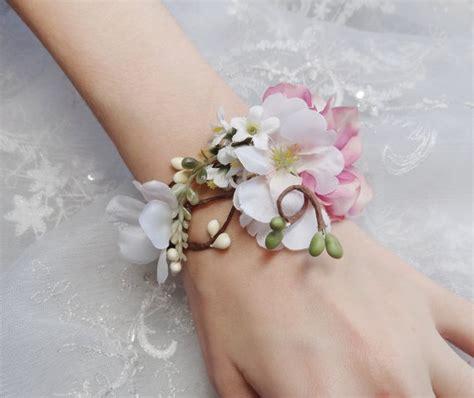 Armband Hochzeit by Hochzeit Manschette Armband Braut Armband Rosa Blume Zubeh 246 R