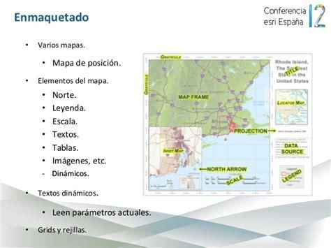layout map español arcgis for desktop 10 1 conferencia esri espa 241 a 2012