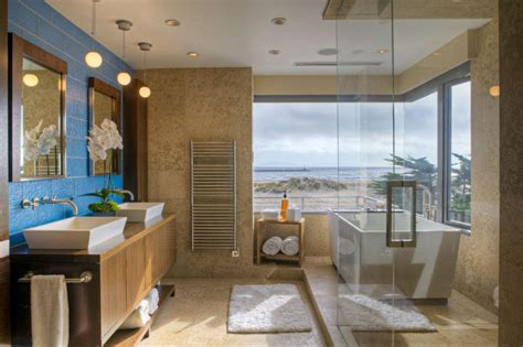 shower design ideas for modern bathroom of mansion ruchi beach house bathroom ideas