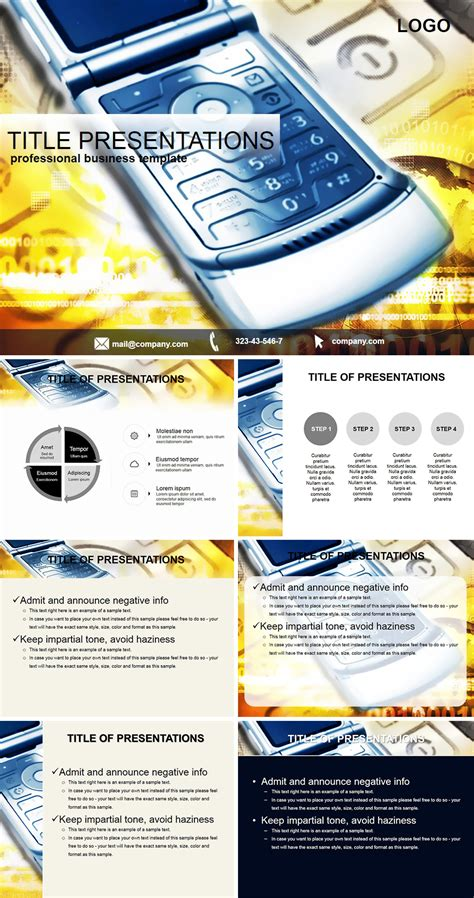 send message to mobile send a message to mobile powerpoint templates