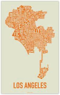 california typography map calibrarian typography maps los angeles