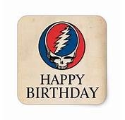 Grateful Dead Birthday Card Steal Your Face