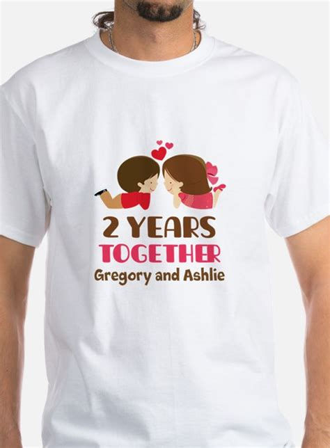 second anniversary t shirts shirts tees custom second