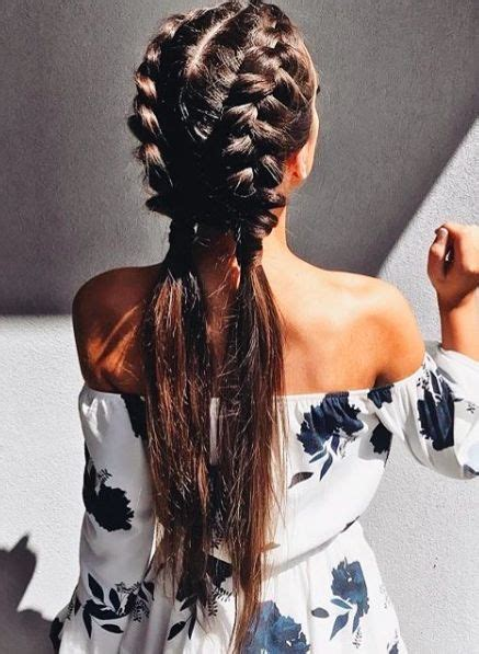 dutch braids ideas  pinterest double dutch braid braids  braided hairstyles