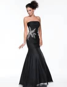 Trendy and stylish dresses black prom dresses mermaid