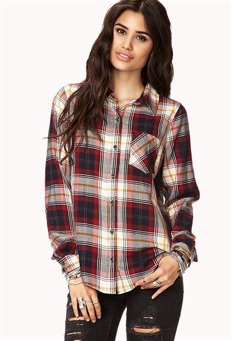 Shirt Forever 21 Original forever 21 plaid pocket shirt where to buy how to wear
