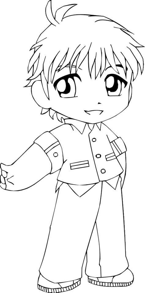 Chibi Boy Coloring Pages   chibi boy by sweetamberkins
