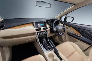 Upholstery Fabric Auto Interior All New 2017 Mitsubishi Expander Previewed Global Debut