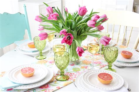 brunch table setting mother s day brunch table setting a pretty life in the