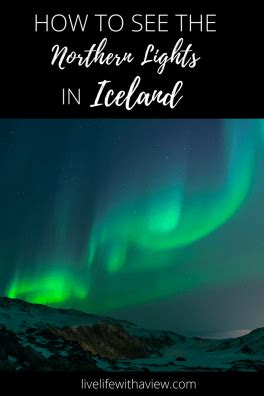 soft serve northern lights how to see the northern lights in iceland life with a view