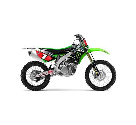 Energy Kawasaki Apparel by Motorcycle Graphic Kit 2014 Team Energy 174 Kawasaki