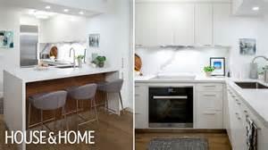 interior design small condo kitchen reno youtube