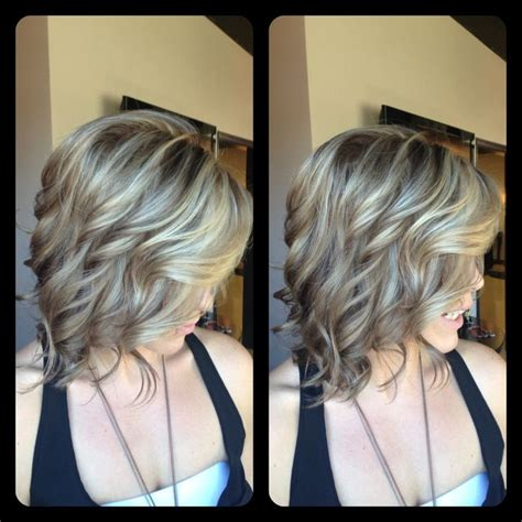 black sant and peper low lights highlights ashy blonde and hair color on pinterest