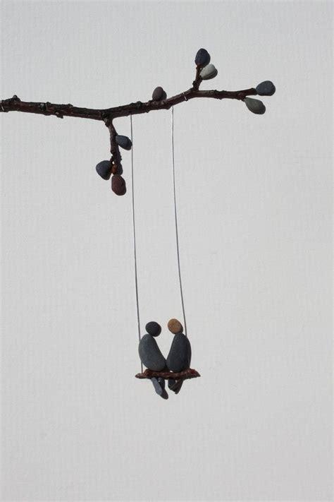 swing by swing pebble pebble art swing life away diy crafts ideas