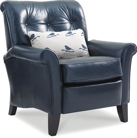 what is a high leg recliner thorne high leg recliner with tufted back by la z boy