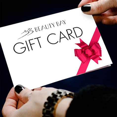 Bay Gift Card - beauty bay hair care skin care make up nails buy gift cards