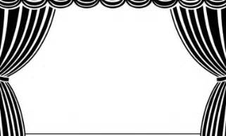 Stage clipart vector art theatre stage with curtains stage curtains