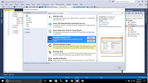 bootstrap templates for visual studio 2010 visual studio bootstrap not working phpsourcecode net