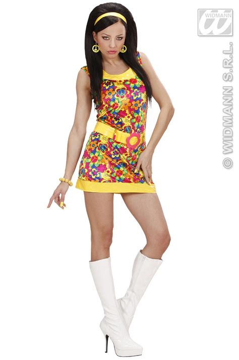 fancy dress for 70 year old peace and love girl costume fancy dress forever