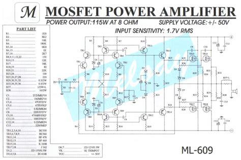 Power Lifier 4 Chanel Class A B Design By Cubig 4 ohm audio lifier schematic audio interface schematic elsavadorla