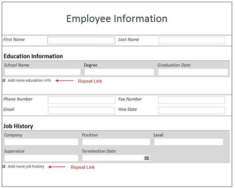 emergency contact forms resume template