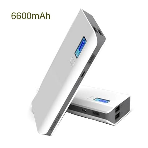 Power Bank Digital Lambo Fast Charging Power Bank 6600 Mah With Digital Indicator Mobilegear In