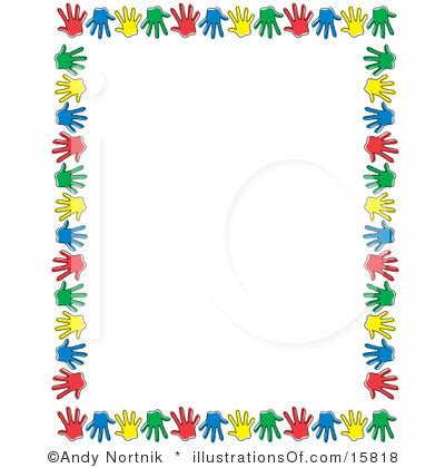frame clipart preschool pencil and in color frame