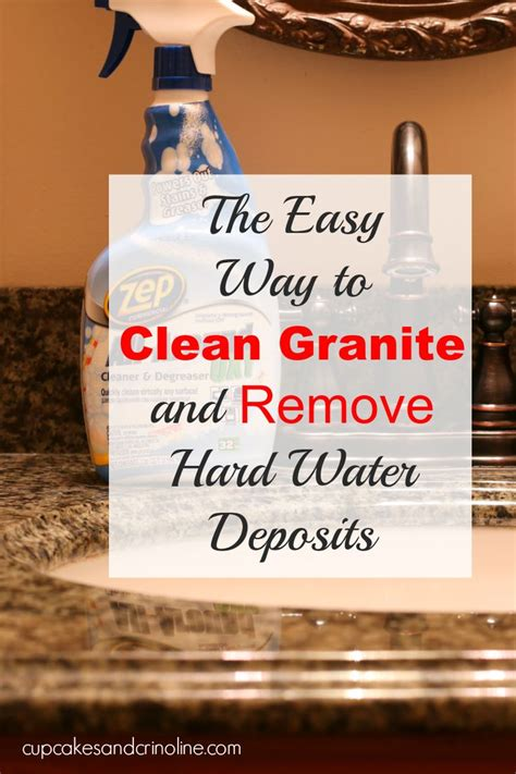 How To Clean Granite Countertops by 25 Best Ideas About Cleaning Granite Countertops On