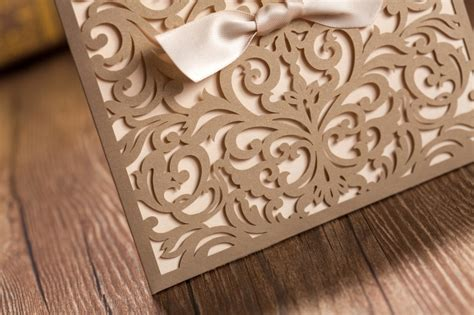 laser cut wedding invitations canada wedding invitations laser cut canada matik for
