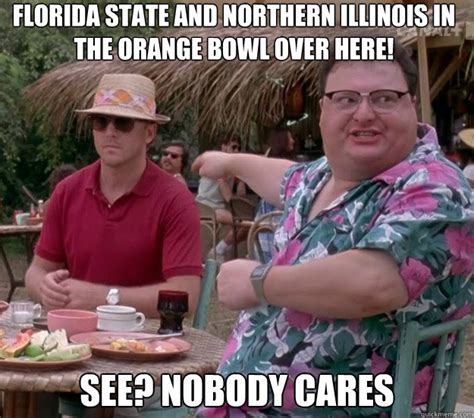 Florida State Memes - florida state and northern illinois in the orange bowl