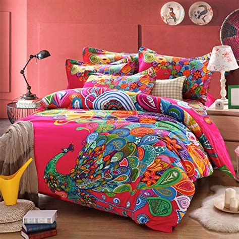 home design brand sheets fadfay home textile elegant colorful rainbow stripe