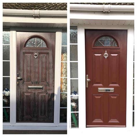 Brown Upvc Front Door Brown Composite Front Doors Kapan Date
