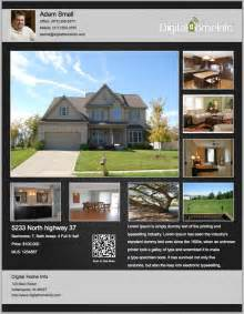 Real Estate Listing Template Free My Listing Flyers Real Estate Listing Flyers