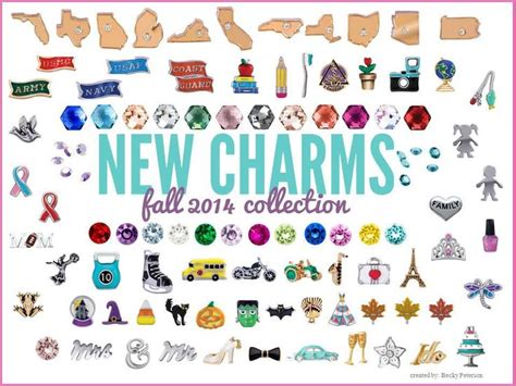 Origami Owl Charm - fall2014 origamiowl new charm collection origami