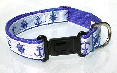 nautical collars blue nautical collar