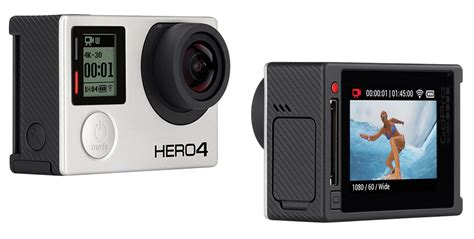 Gopro 4 Di Australia Gopro Hero4 Black And Silver On Display Techly
