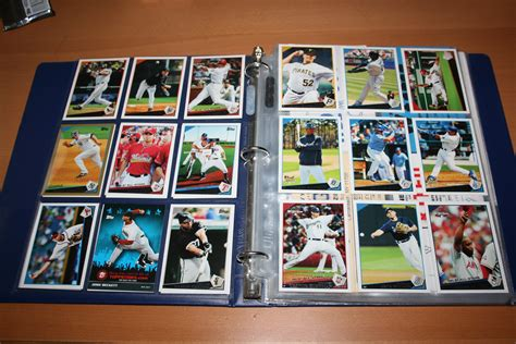 Gift Card Supply - sport card binder pages baseball cards football card supplies