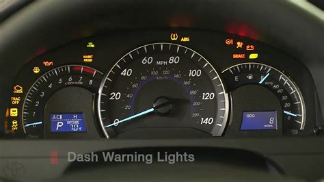 toyota dash symbols camry how to dashboard warning lights 2014 5 toyota camry