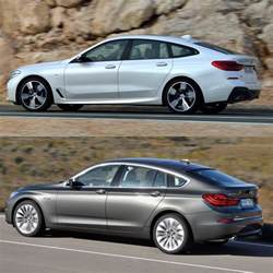 photo comparison bmw 6 series gt vs 5 series gt
