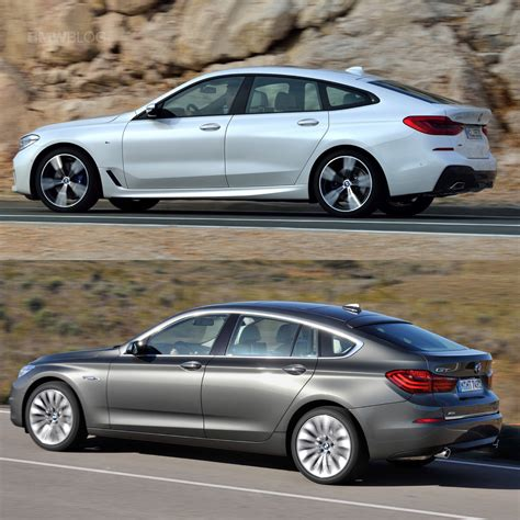 Bmw Gt Series by Photo Comparison Bmw 6 Series Gt Vs 5 Series Gt